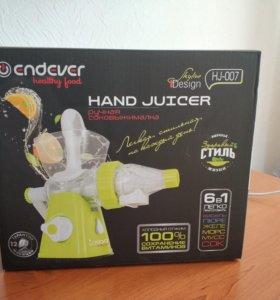 Соковыжималка Endever HJ-007