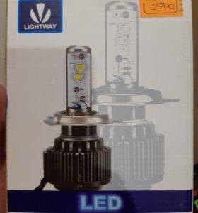 Лампочки светодиодные HB4 новые