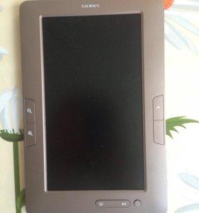 Электронная книга TEXET память 4Гб