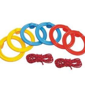 Кольца гимнастические детские