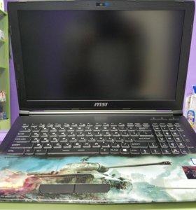 Игровой Ноутбук MSI GL62M WOT Edition