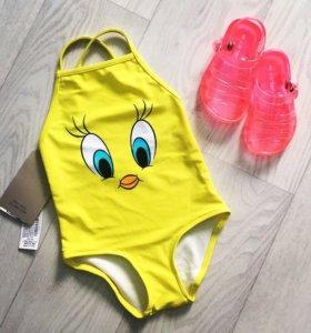🐥Zara купальник 1-2годика🐥
