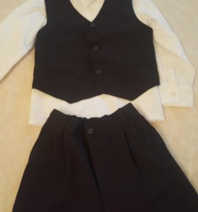 Рубашка жилетка и брюки