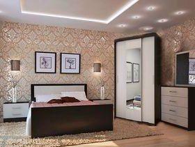 Спальня Фиеста 2*, КРОВАТЬ+ШКАФ+ТУМБЫ