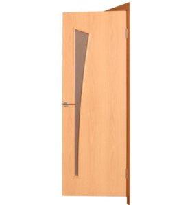 Дверь 60х200, каркас и наличники