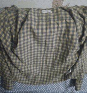 Клетчетая рубашка ZARA