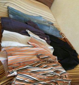 Пиджак, рубашки, джинсы р.48-50