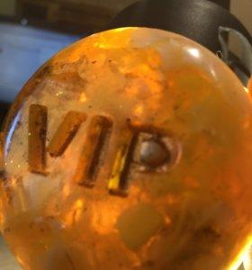 Мыло VIP-янтарный камень