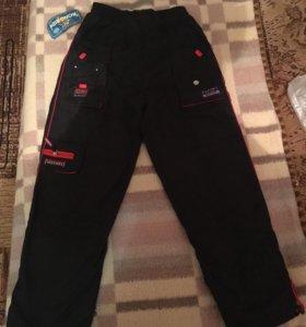 новые утеплённые штаны
