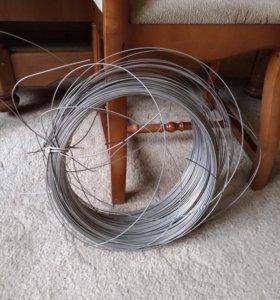Проволока жесткая стальная 160 м д=1,5 мм