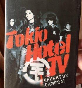Tokio Hotel TV - Caught on camera! DVD +напульсник
