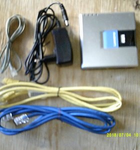 Машрутизатор (роутер) LINKSYS SPA2102-EU