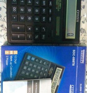 Citizen настольный калькулятор SDC-888 TIi
