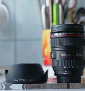 В идеальном состоянии Canon EF 24-105mm F/4L IS