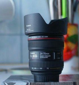 Абсолютно новый Canon EF 24-70mm f/4L IS USM.