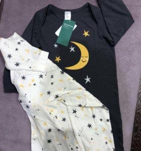 Новая пижама H&M (2 шт)