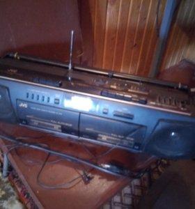 Магнитофон JVC 1980г
