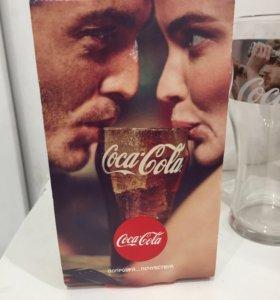 Коллекционные стаканы от фирмы Coca Cola
