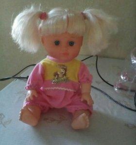 Набор кукла в рюкзаке