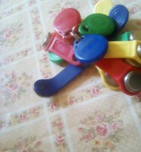 Ключи от домофонов для распрострнителей