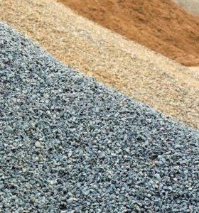 Грунт , щебень , песок, отсев