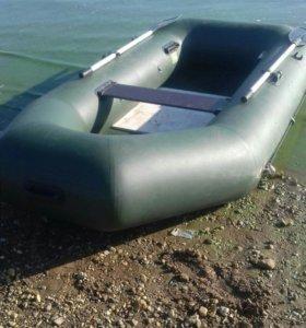 Резиновая лодка, двухместная