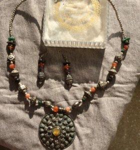 Колье/ожерелье и серьги