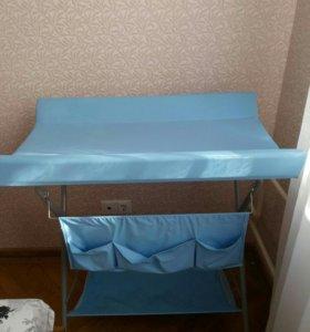 Раскладной пеленальный столик