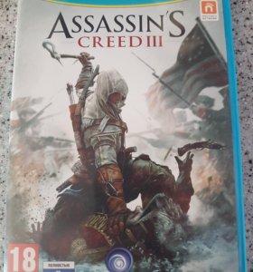 Assassin's creed 3 Nintendo Wii U WiiU