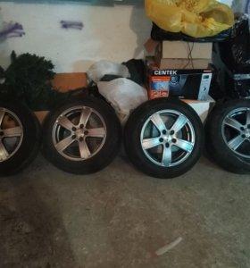 Pirelli p7 на литье