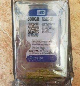 """Новый Жёсткий диск 3.5"""" 500 Гб"""