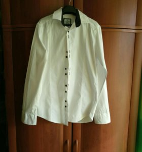 Белая рубашка подростковая