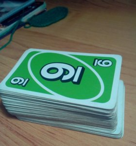 Карты Uno 100 штук