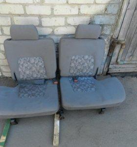Задний ряд сидений Recaro Mitsubishi Pajero II