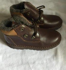 Ботинки на мальчика зима