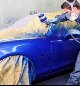 Покраска авто, кузовной ремонт, стапель, полировка