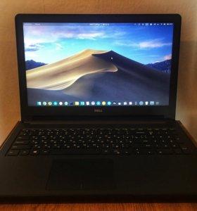 "Ноутбук Dell i3/8/120SSD+500HDD/15,6"" Новый"