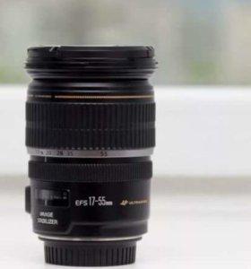Объектив Canon 17-55 USM 2.8