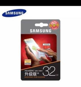 Флешка SAMSUNG Карты Памяти Micro SD новая
