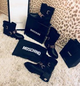 СапогиBalmain,Moschino,Givenchi...размеры все!!!