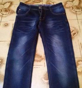 Утепленые джинсы для мальчика