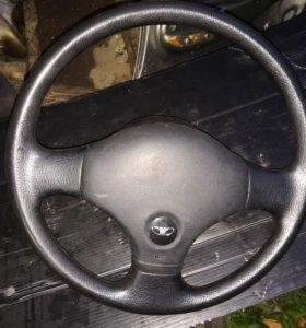 Рулевое колесо Daewoo Nexia, руль.