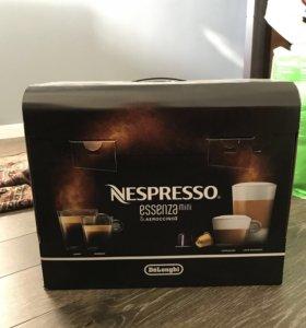 Nespresso Essenza Mini Aeroccino/ набор капсул