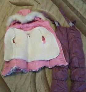 продам зимний костюм для девочки