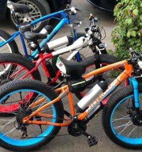 Fat bike электро