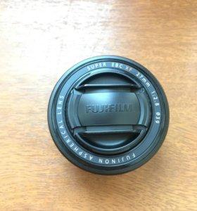 Fujifilm XF 27mm f/2.8 black