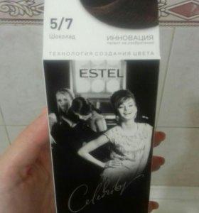 Краска для волос Эстель Estel шоколад