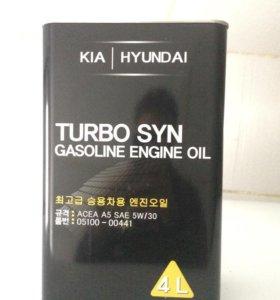 Масло моторное Hyundai/KIA Turbo SYN 5W-30 4л