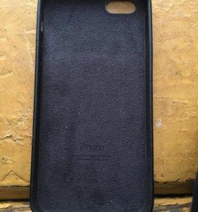 Оригинальный Кожанный чехол на Iphone SE