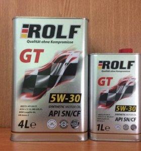 Масло моторное ROLF GT 5W-30 SN/CF